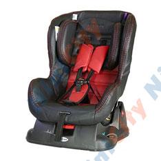 صندلی ماشین دلیجان مدل کامفورت Comfort مشکی با تشک قرمز مشکی