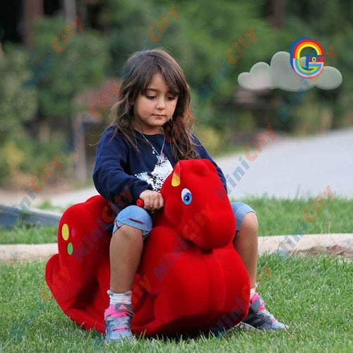 راکر کودک اسب الاکلنگی جی تویز مدل سالین Salin