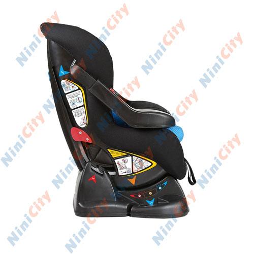 صندلی خودرو دلیجان مدل الیت پلاس نیو Elite Plus New مشکی با تشک آبی مشکی