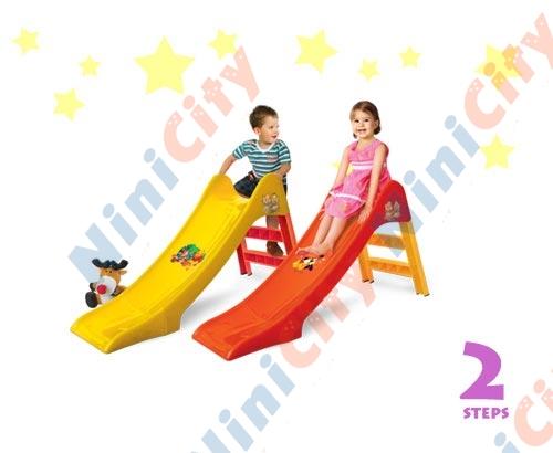 سرسره کودک مدل هانا ۲ پله