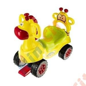 ماشین بازی چهارچرخ کودک سپیده تویز مدل مگا کار سایبان دار Sunshade Mega Car