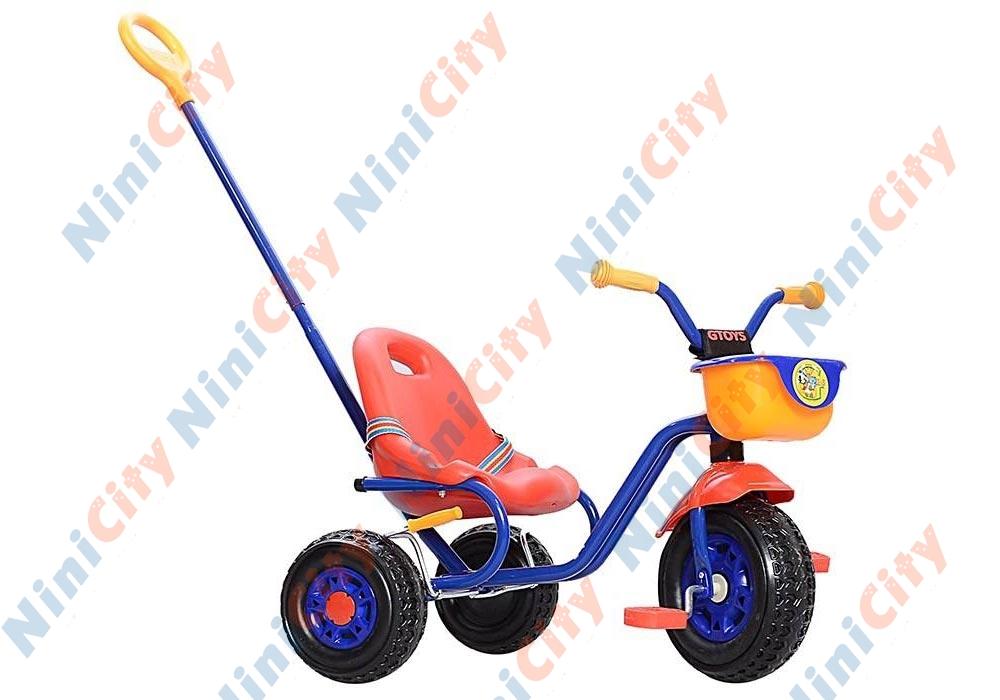 سه چرخه جی تویز مدل میکی موس ۲۲ Mickey Mouse 22 آبی قرمز